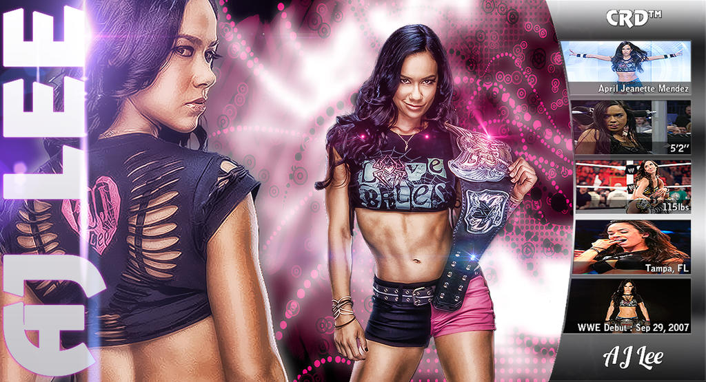 AJ Lee by TheElectrifyingOneHD on DeviantArt