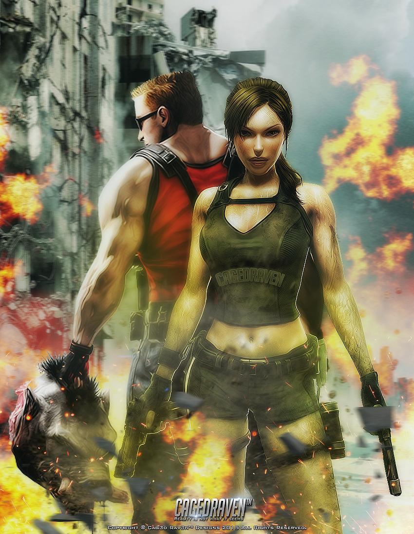 Duke Nukem Lara Croft Fuck 38
