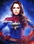 Ronda Rousey as Captain Marvel.