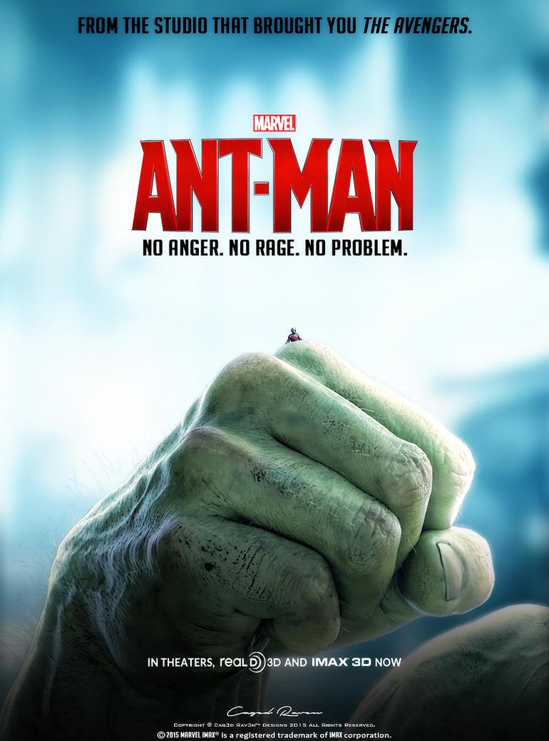 ANT MAN Poster #4 HULK by Cag3dRav3n on DeviantArt