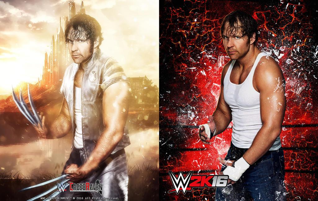 Dean Ambrose X-Men by Cag3dRav3n