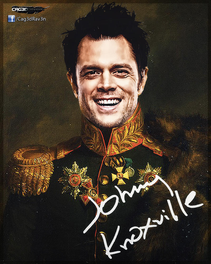 Johnny Knoxville by Cag3dRav3n