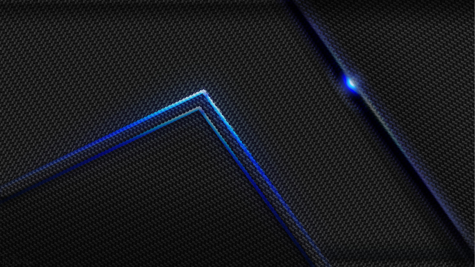 blue led wallpaper - photo #10