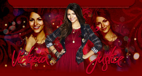 Free Victoria Justice header by MiniiBogee