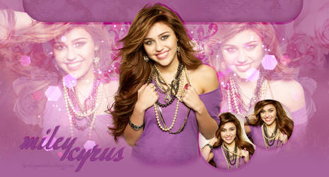 Free Miley Cyrus header by MiniiBogee