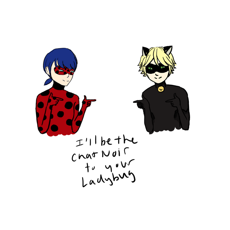 Miraculous Ladybug Valentines Day Card by zlzhang