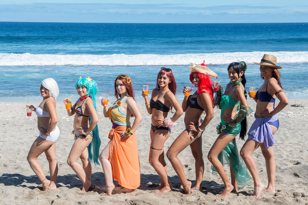 League of ladies - Beach party skin by CandyLou974