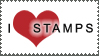 I Luv Stamps by StampsLikeCrazy