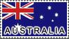 Australia Flag by StampsLikeCrazy