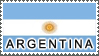 Argentina Flag by StampsLikeCrazy