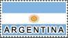 Argentina Flag by StampsLikeCrazy