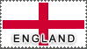 England Flag by StampsLikeCrazy
