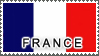 France Flag by StampsLikeCrazy