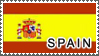 Spain Flag by StampsLikeCrazy