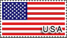 USA Flag by StampsLikeCrazy