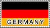 Germany Flag by StampsLikeCrazy
