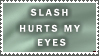 Slash Hurts by StampsLikeCrazy