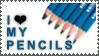 I Love My Pencils by StampsLikeCrazy