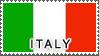 Italy Stamp by StampsLikeCrazy