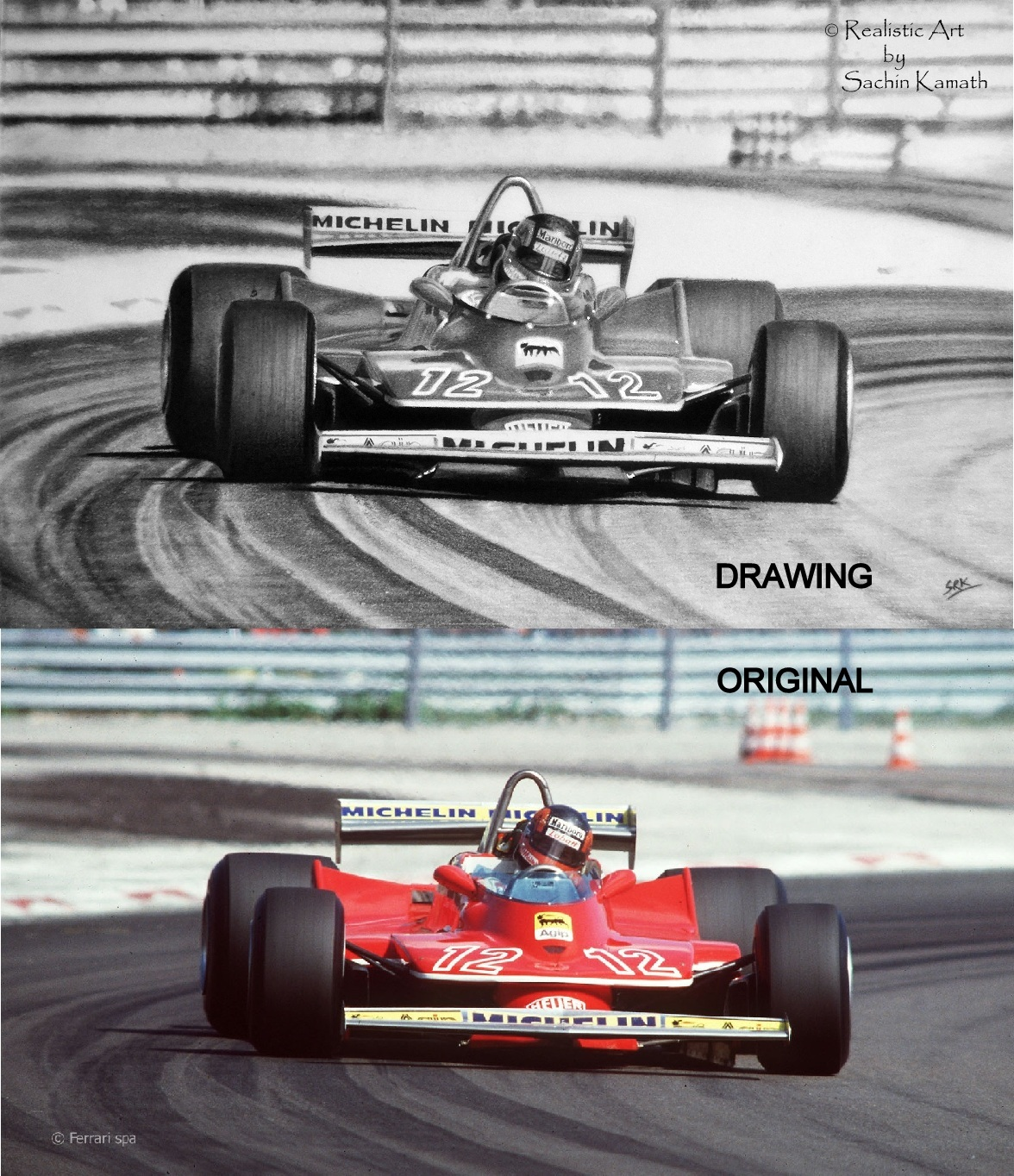 'FLAT OUT' Compare#1 by realisticartsachin
