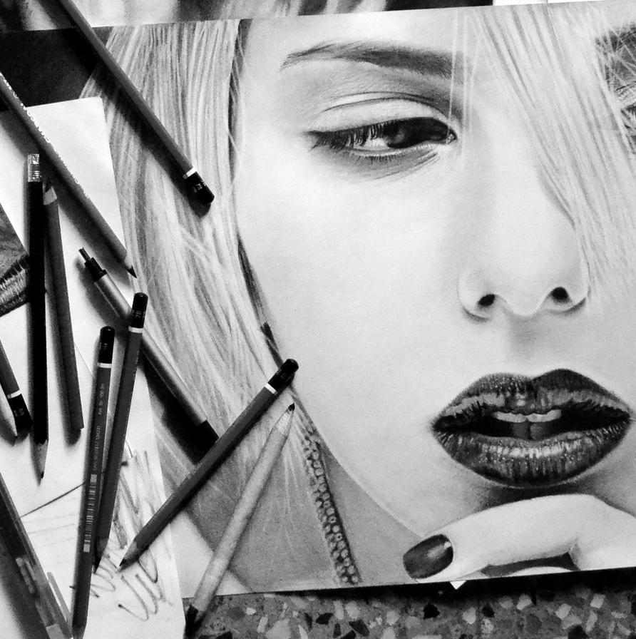 Scarlett by realisticartsachin