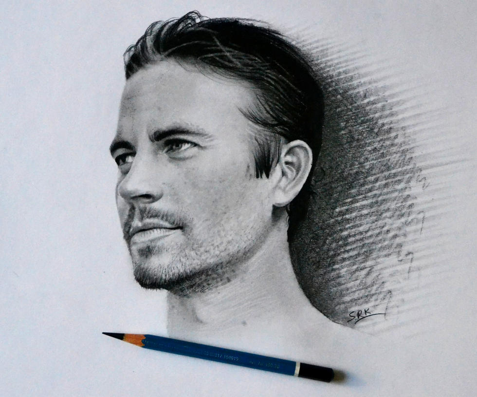 Paul Walker by realisticartsachin