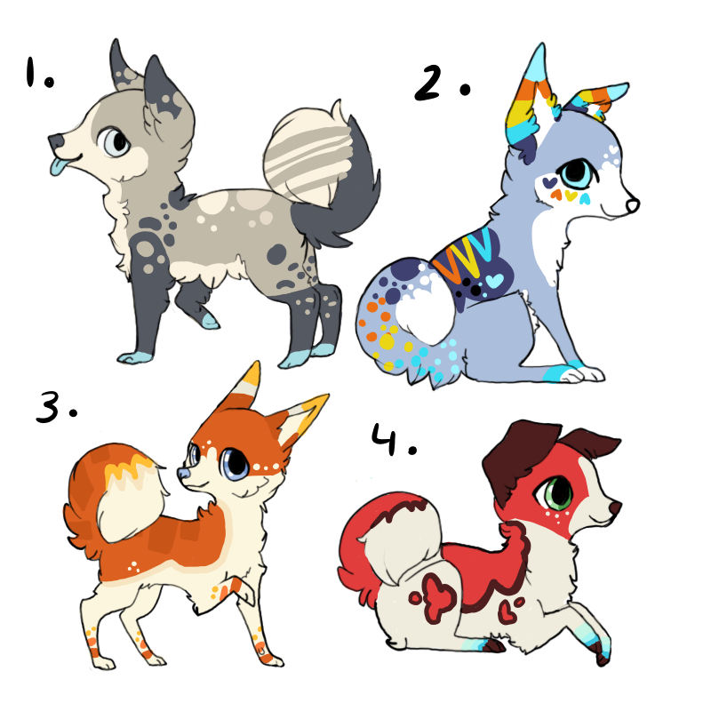 adoptables! CLOSED by Valizan-Adopts