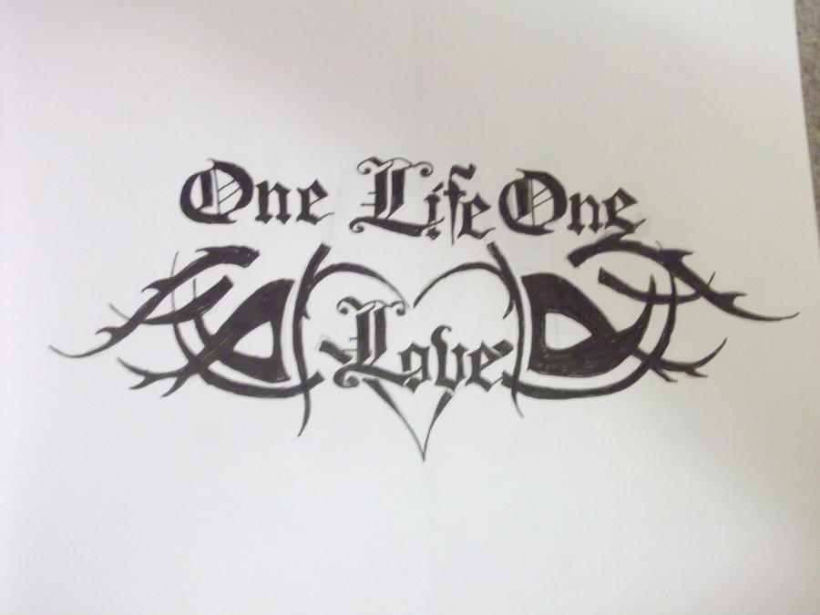 The Gallery For Gt One Love One Life Tattoo