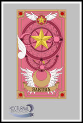Sakura - Back Cover: COLOUR by DisastrousBunny