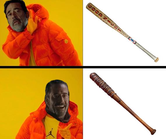 Negan Meme 1 by DisastrousBunny
