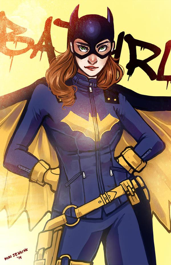 Batgirl by KikaiSaigono