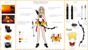 Sailor Alectrona Ref Sheet by SLMGregory
