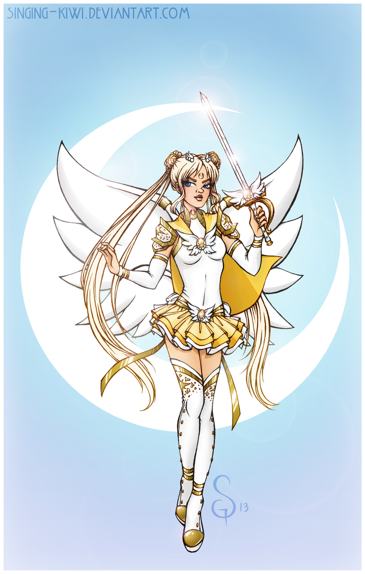 Cosmic Sailor Moon by Singing-Kiwi