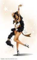 Sailor Imperial Dark Star by SLMGregory