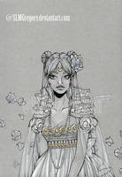 Princess Serenity (SOLD) by SLMGregory