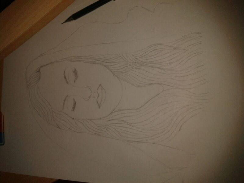Potrait of Adele by Clanverwalter