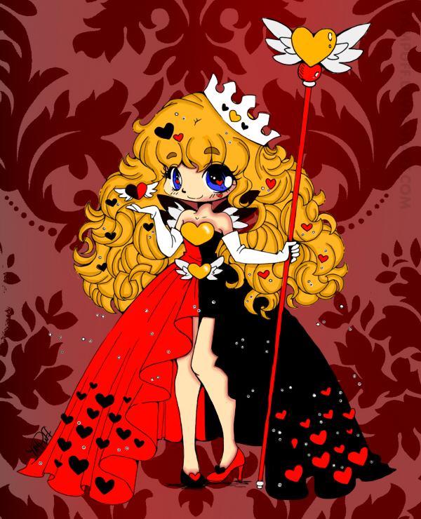Queen Of Hearts by Clanverwalter