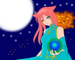 Moonlight Aura by Clanverwalter