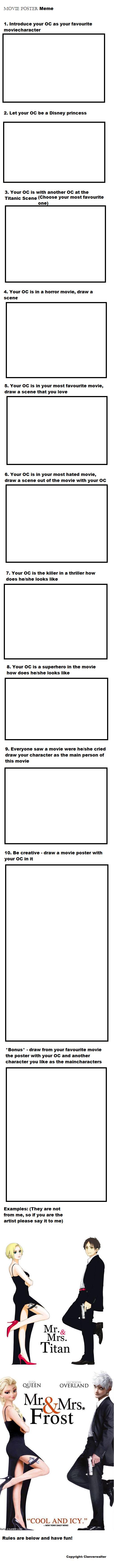 Movie Poster Meme by Clanverwalter