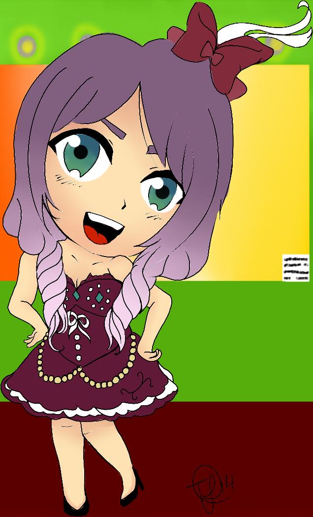 Kira Sawakiza Chibi by Clanverwalter