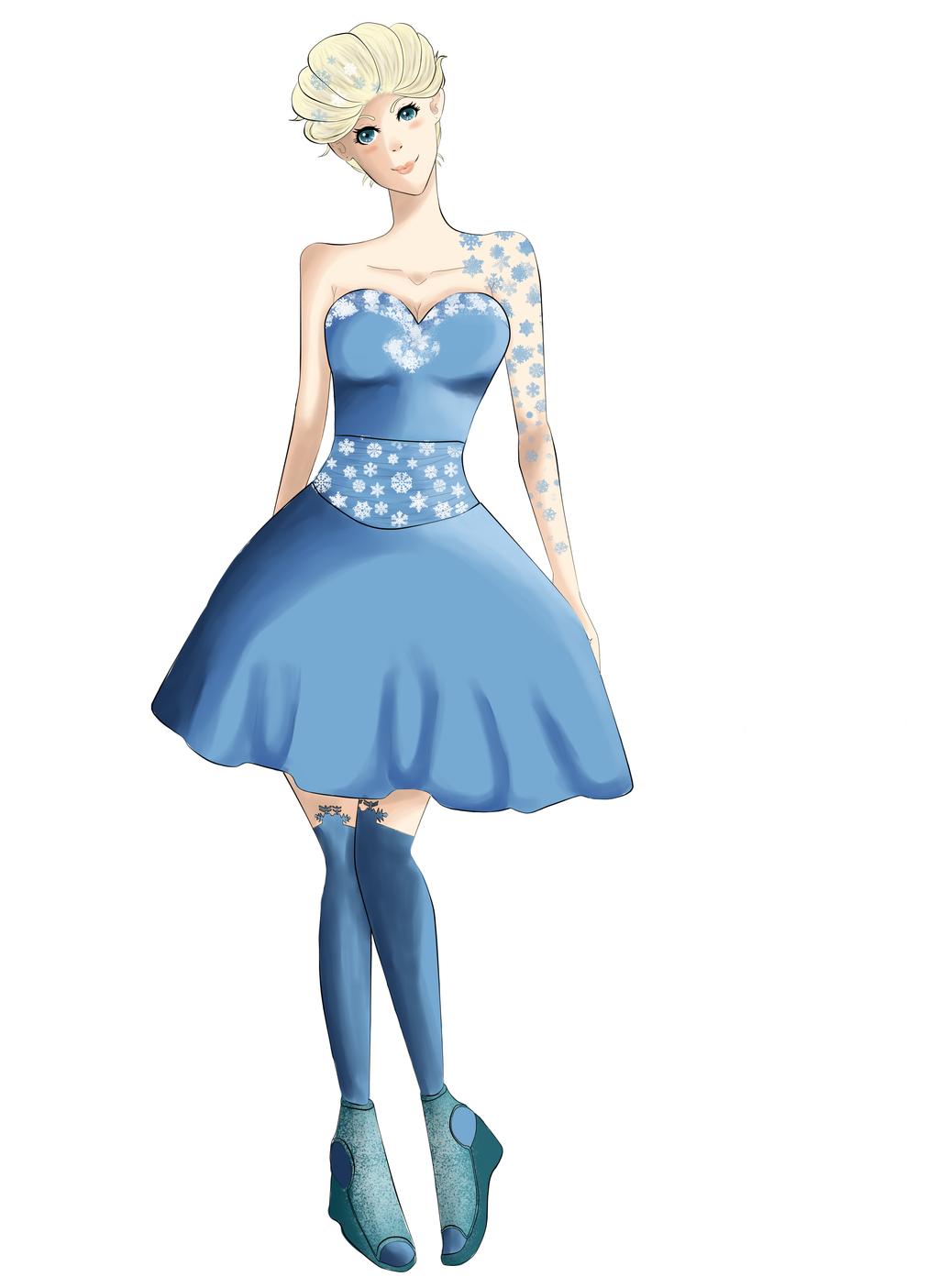Queen Elsa of Arendelle by Clanverwalter