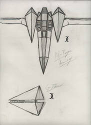Arwing Design by StarYoshi