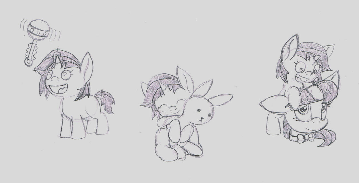 Triplets' Toys by Airship-King