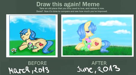 Draw this again! Meme by PlaviLeptir