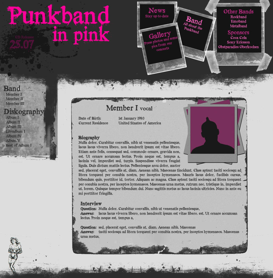 Punkband in Pink by matrix90