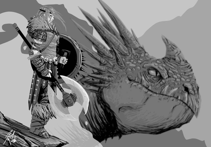 how to train yout dragon john power