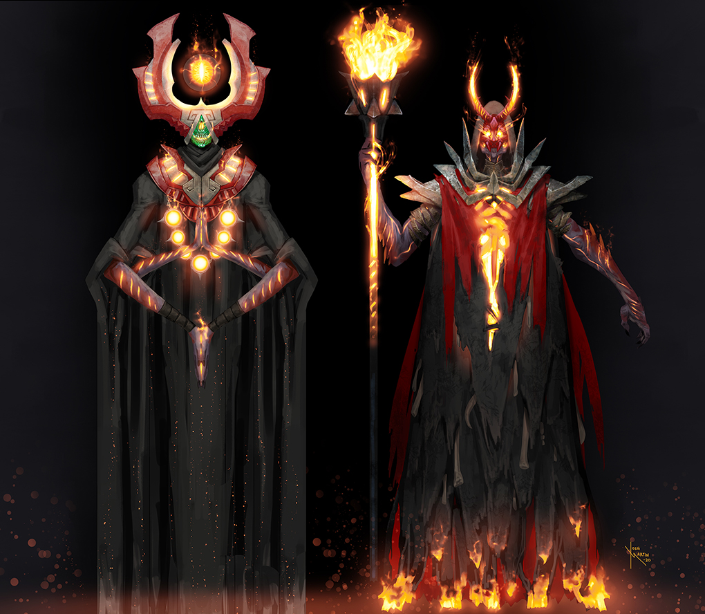 Inferno Caster and Inferno Priest