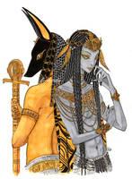 Comm: Anubis and Sokaris