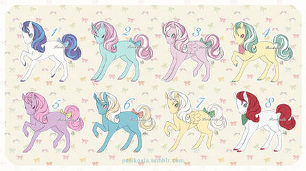My Little Pony - Adopts Set Price (OPEN 3/8) by Perikoala