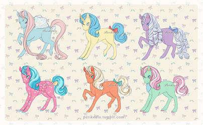 [Set Price] My Little Pony #2 Adopts (OPEN 6/6) by Perikoala
